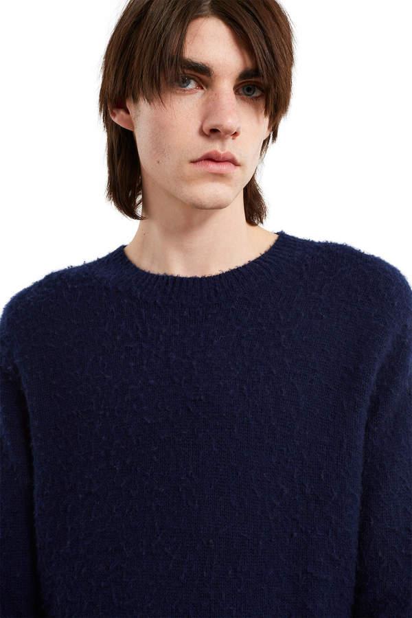 Acne Studios Navy Peele Sweater