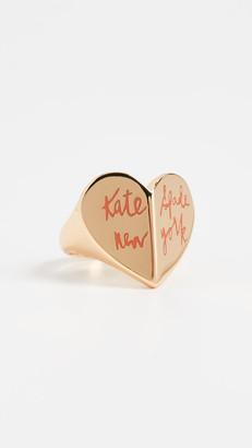 Kate Spade Heritage Spade Heart Ring