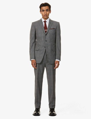 Tom Ford O'Conner-fit houndstooth stretch-wool suit
