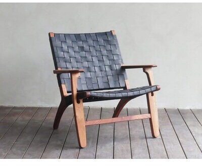"""Thumbnail for your product : Masaya & Co Abuelo 33"""" Wide Armchair"""