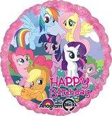 99 LuftBalloons LuftBalloons Std My Little Pony Birthday Balloon