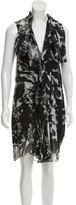 Balenciaga Printed Silk Dress