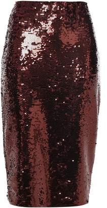 MICHAEL Michael Kors Sequined Jersey Midi Skirt