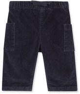 Petit Bateau Baby boy stretch velours pants