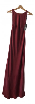 Stone_Cold_Fox Stone Cold Fox Red Silk Dresses