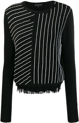 Cashmere In Love Knit Sweater With Handcrafted Beads