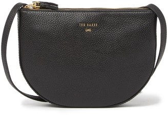 Ted Baker Semi Circle Leather Crossbody Bag