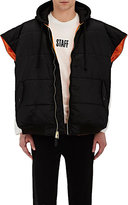 Vetements Men's Oversized Sleeveless Bomber Jacket