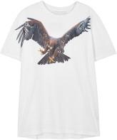 Neil Barrett Flying Eagle White Cotton T-shirt