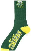 For Bare Feet Portland Timbers Deuce Crew 504 Socks