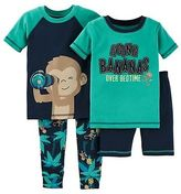 Just One You® made by Carter's Toddler Boys' Snug Fit Cotton 4-Piece Pajama Set - Just One You Made by Cart...