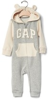 Gap Logo bear hoodie one-piece