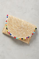 Shiraleah Pommed Straw Clutch