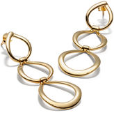 Coach Triple Link Earrings