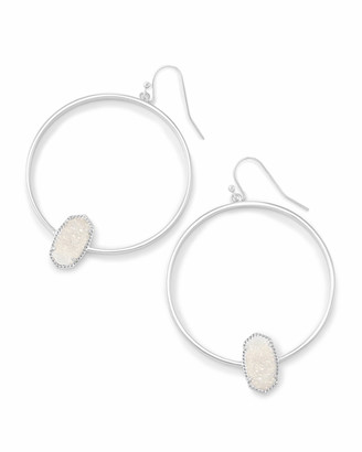 Kendra Scott Elora Silver Hoop Earrings