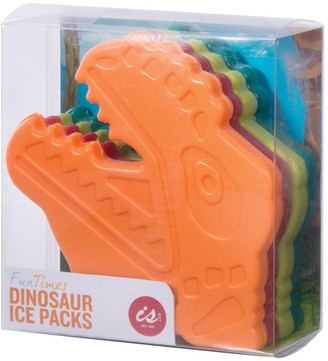 IS Gift Fun Times Ice Packs Dinosaurs Set of 4