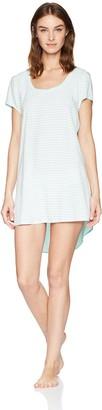 Mae Amazon Brand Women's Sleepwear Scoop Neck Nightgown