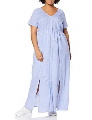 Junarose Women's Jrmaitchen Ss Maxi Dress-K,(Size: 46)