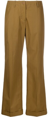 Aspesi High-Waisted Pleated Trousers