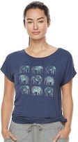 Gaiam Women's Intention Graphic-Print Yoga Tee