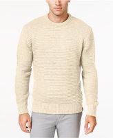 Weatherproof Vintage Men's Textured Stripe Sweater, Classic Fit