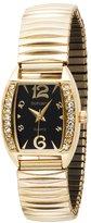 Dufonte Women's 73053YL Expanding Gold-Tone Bracelet Watch
