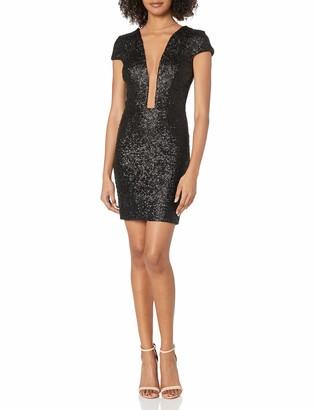 Dress the Population Women's Kylie Sequin Mini Dress