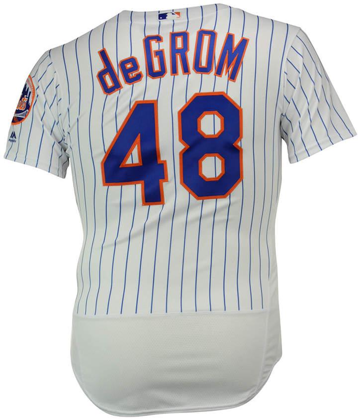 Majestic Men's Jacob deGrom New York Mets Flexbase On-Field Jersey