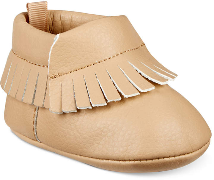 First Impressions Fringe Moccasins, Baby Boys & Girls (0-4), Created for Macy's