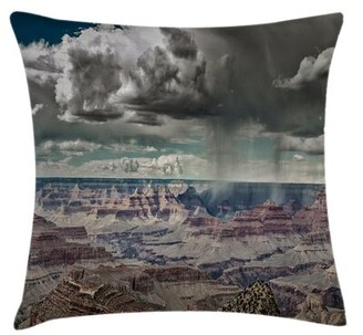 "East Urban Home Nature Indoor / Outdoor 36"" Throw Pillow Cover"