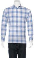 Vince Plaid Woven Shirt w/ Tags