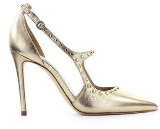 Michael Kors Ava Pale Gold Studs Pump
