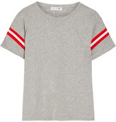 Rag & Bone Vintage Striped Cotton-jersey T-shirt - Light gray