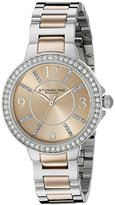 Stuhrling Original Women's 4803 Allure Two-Tone Stainless Steel Watch