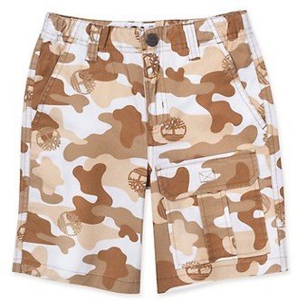 Timberland Little Boy's Regular-Fit Camouflage Utility Shorts