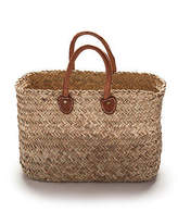NEW Small rectangle basket bag in rustic weave Women's by 2 duck trading co