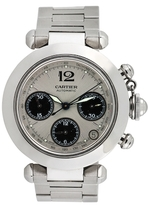 Cartier Vintage Pasha Chronograph Watch, 36mm