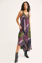Free People Work Of Art Printed Maxi Slip by Intimately at