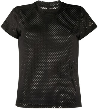 Rick Owens mesh round neck T-shirt