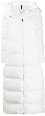 Moncler Goelo long down coat