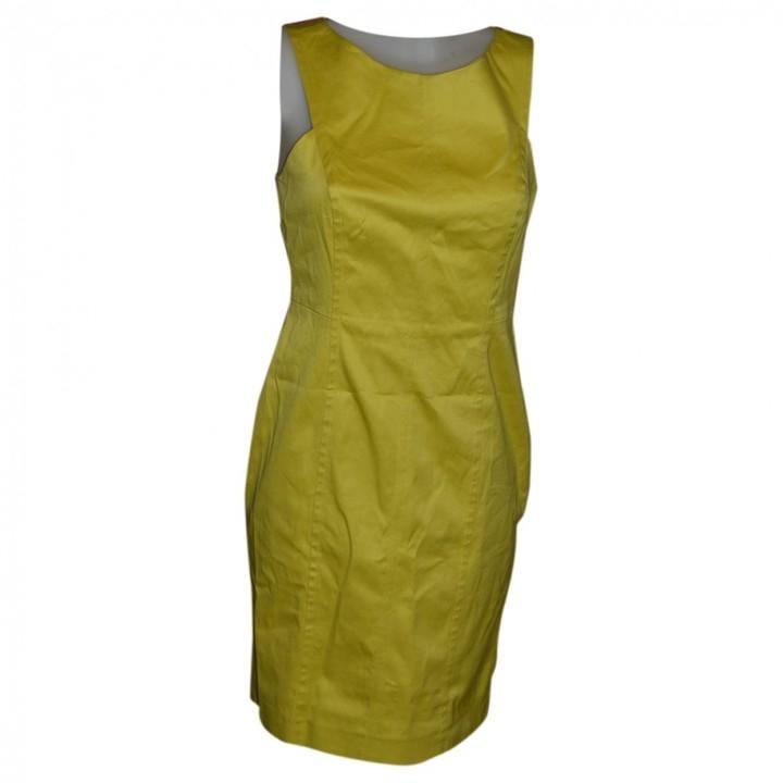 Hoss Intropia Yellow Cotton - elasthane Dress for Women