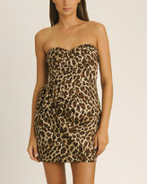 Leopard Side Bow Dress