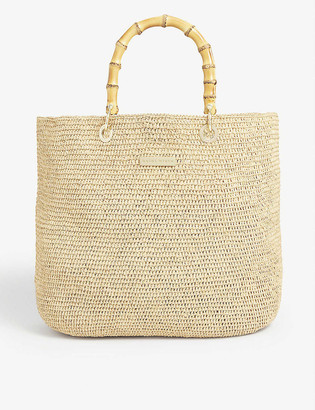 Heidi Klein Savannah medium woven tote bag