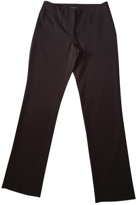Burberry Brown Wool Trousers