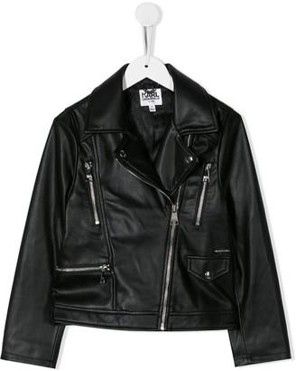 Karl Lagerfeld Paris Biker Jacket