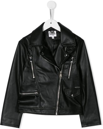 Karl Lagerfeld Paris biker jacket