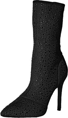 Qupid Women's Sock Bootie Fashion Boot