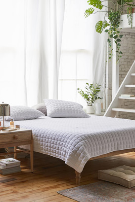Urban Outfitters Grid Jersey Quilt