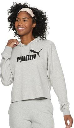Puma Women's Essential Logo Cropped Hoodie