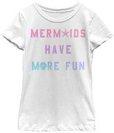 Fifth Sun White 'Mermaids Have More Fun' Tee - Toddler & Girls